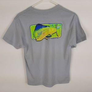 Guy Harvey Boys Classic Fit T-shirt Mahi-mahi Dolp